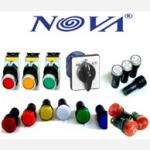 PILOT LAMP WITH LED (NOVA)